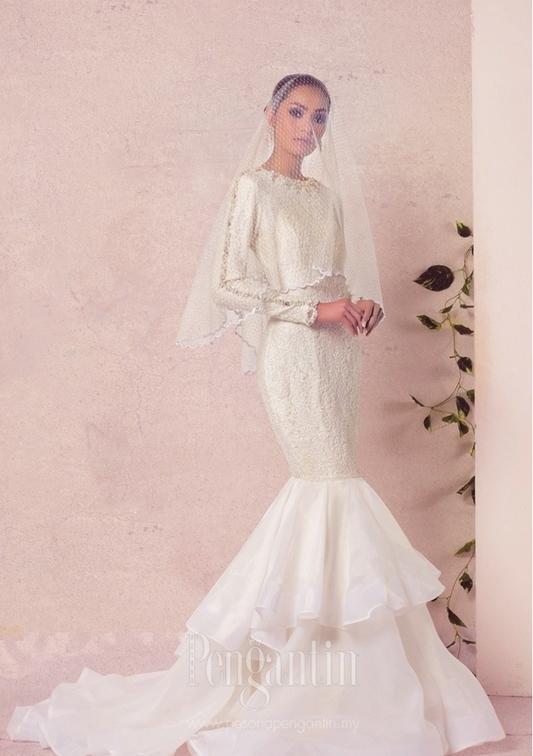 Fabrik Popular Untuk Buat Baju Kahwin Ramai Bakal Pengantin Tak