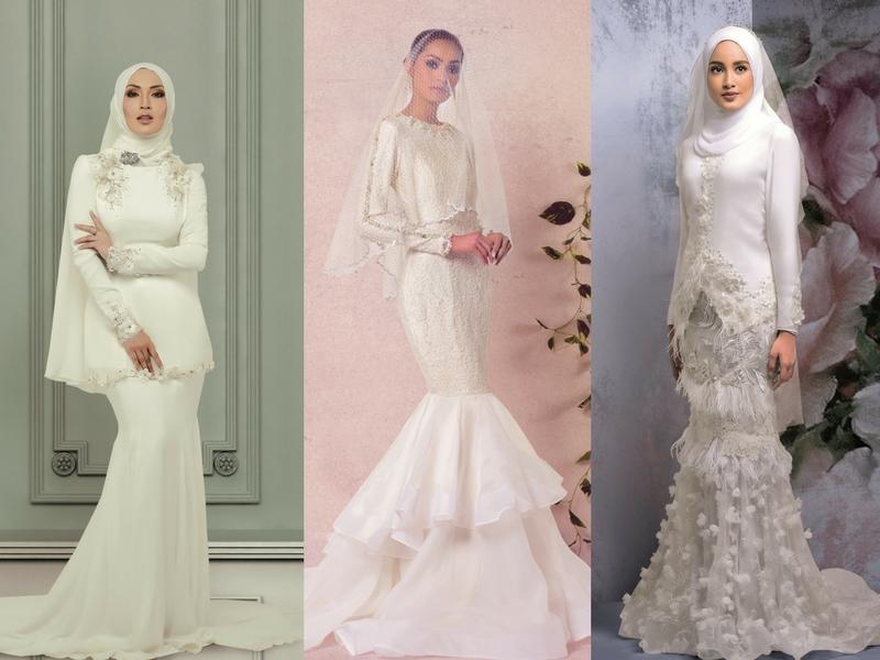 POLL 8 Pilihan Baju Kahwin Yang Paling Trendy Pesona